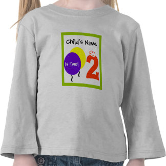 baby is one 2 , 2nd second Birthday,t-shirt