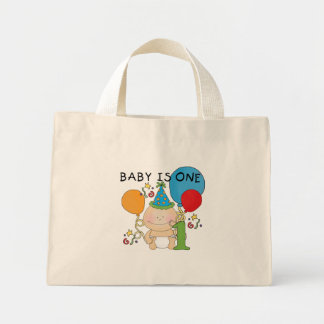 Baby is One  Tshirts and Gifts Mini Tote Bag