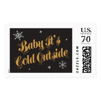 Baby It s Cold Outside Postage Stamp