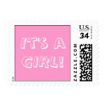 BABY It's a GIRL POSTAGE
