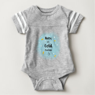 Baby it's cold outside baby bodysuit