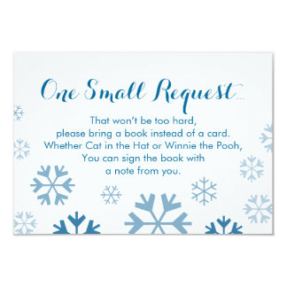 Baby It's Cold Outside Book Insert Card