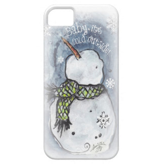 Baby It's Cold Outside iPhone 5 Cases
