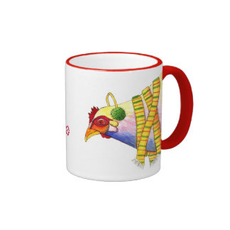 Baby it's Cold Outside Chicken Ringer Coffee Mug