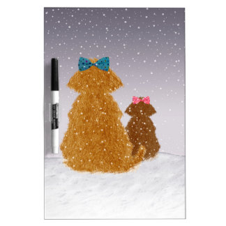 Baby it's cold outside Dry-Erase board