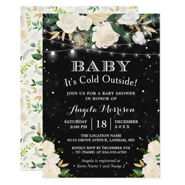 winter baby shower invitations sansalvaje com