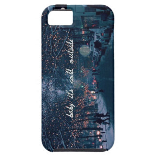 baby its cold outside iPhone SE/5/5s case