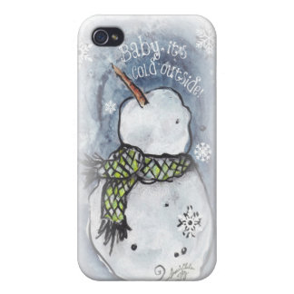 Baby It's Cold Outside Matte Finish iPhone 4/4S Cases