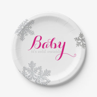 Baby It's Cold Outside Plates