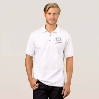 Baby it's cold outside polo shirt