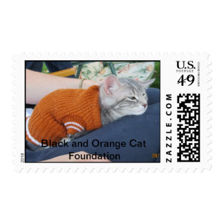 Baby it's cold outside. postage stamp