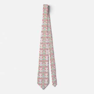 Baby It's Cold Outside Ugly Sweater Style Neck Tie