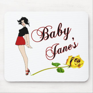 Baby Jane Pin Up Girl Mouse Pad