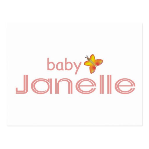 Baby Janelle Post Cards