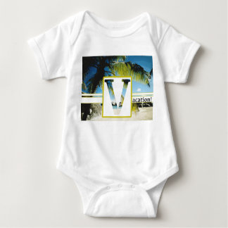 Baby Jersey Bodysuit VACATION