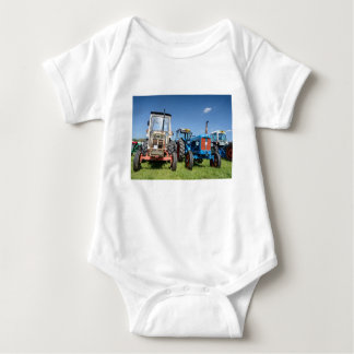 Baby Jersey Tractor Bodysuit, Various Colours Baby Bodysuit