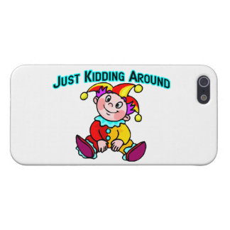 Baby Jester Just Kidding Around Cover For iPhone SE/5/5s