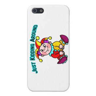 Baby Jester Just Kidding Around iPhone SE/5/5s Case