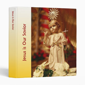 Baby Jesus 3 Ring Binder