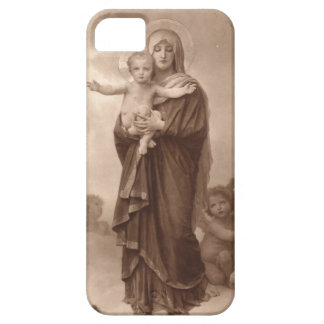 Baby Jesus and Mother Mary iPhone SE/5/5s Case