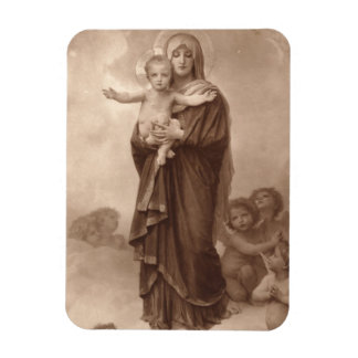 Baby Jesus and Mother Mary Magnet