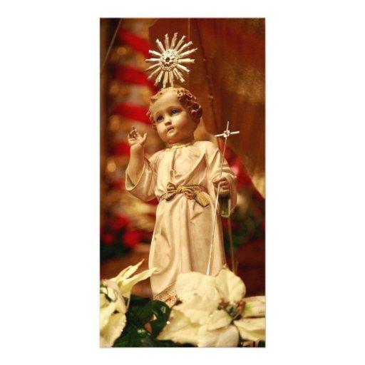 Baby Jesus Custom Photo Card