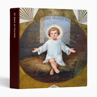 Baby Jesus decorative artwork Binder