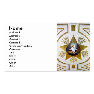 Baby Jesus decorative artwork Business Cards