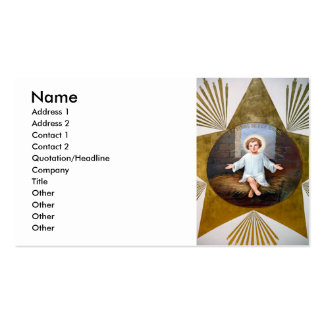Baby Jesus decorative artwork Business Card