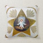 Baby Jesus decorative artwork Pillows