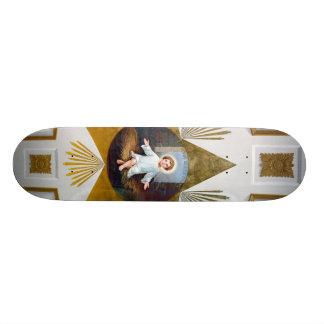 Baby Jesus decorative artwork Custom Skate Board