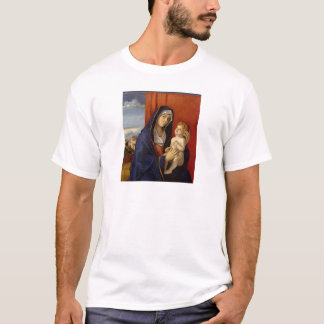 Baby Jesus Holding Gold Pear T-Shirt