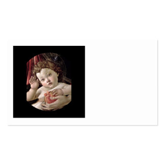 Baby Jesus Holding Pomegranate Business Card