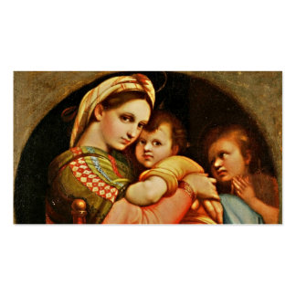Baby Jesus in Mary's Arms Business Card