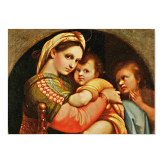 Baby Jesus in Mary's Arms Card