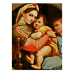 Baby Jesus in Mary's Arms Post Cards