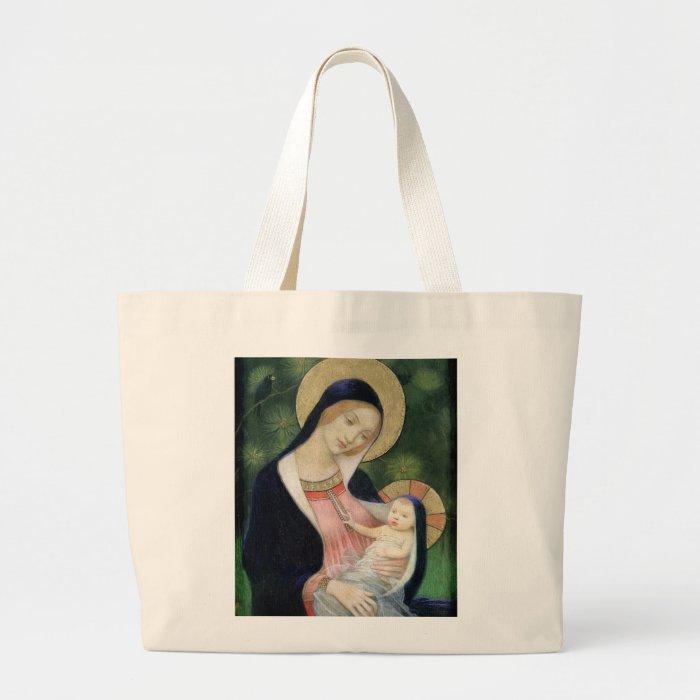 BABY JESUS LARGE TOTE BAG