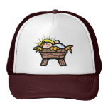 baby jesus mesh hat