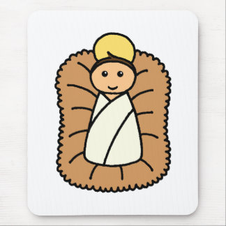 Baby Jesus Mouse Pad