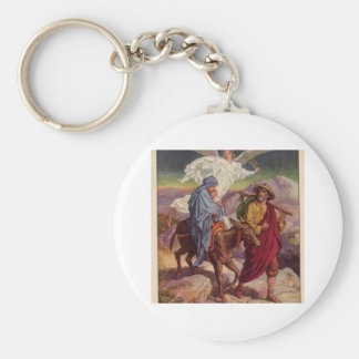 Baby Jesus on his way to Egypt Keychain