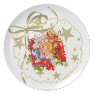 Baby Jesus Plate