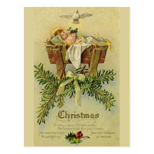 Baby Jesus Post Card