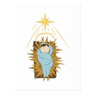 Baby Jesus Postcard