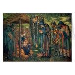 Baby Jesus Pre-Raphaelite Christmas Cards