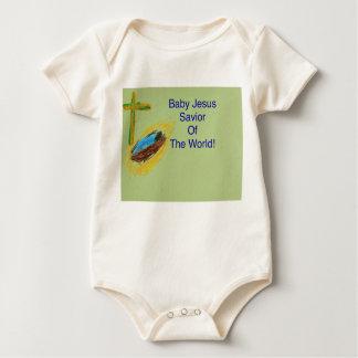 Baby Jesus Savior of the World baby clothing Baby Bodysuit
