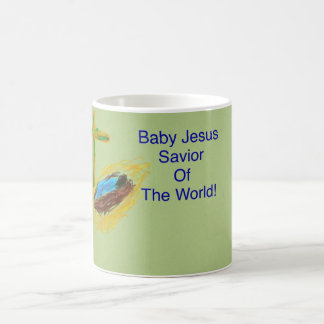 Baby Jesus Savior of the World Coffee Mug