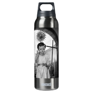 Baby Jesus 16 Oz Insulated SIGG Thermos Water Bottle