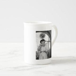 Baby Jesus Porcelain Mug