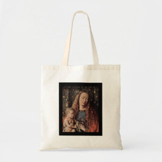 Baby Jesus Touching Dove Tote Bag