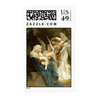 Baby Jesus w/Angesls - Med Postage